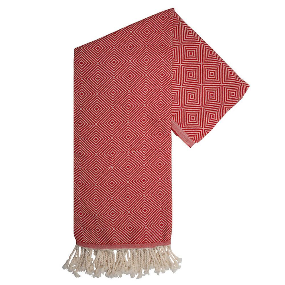 Hamam-Handtuch Harmony Rot