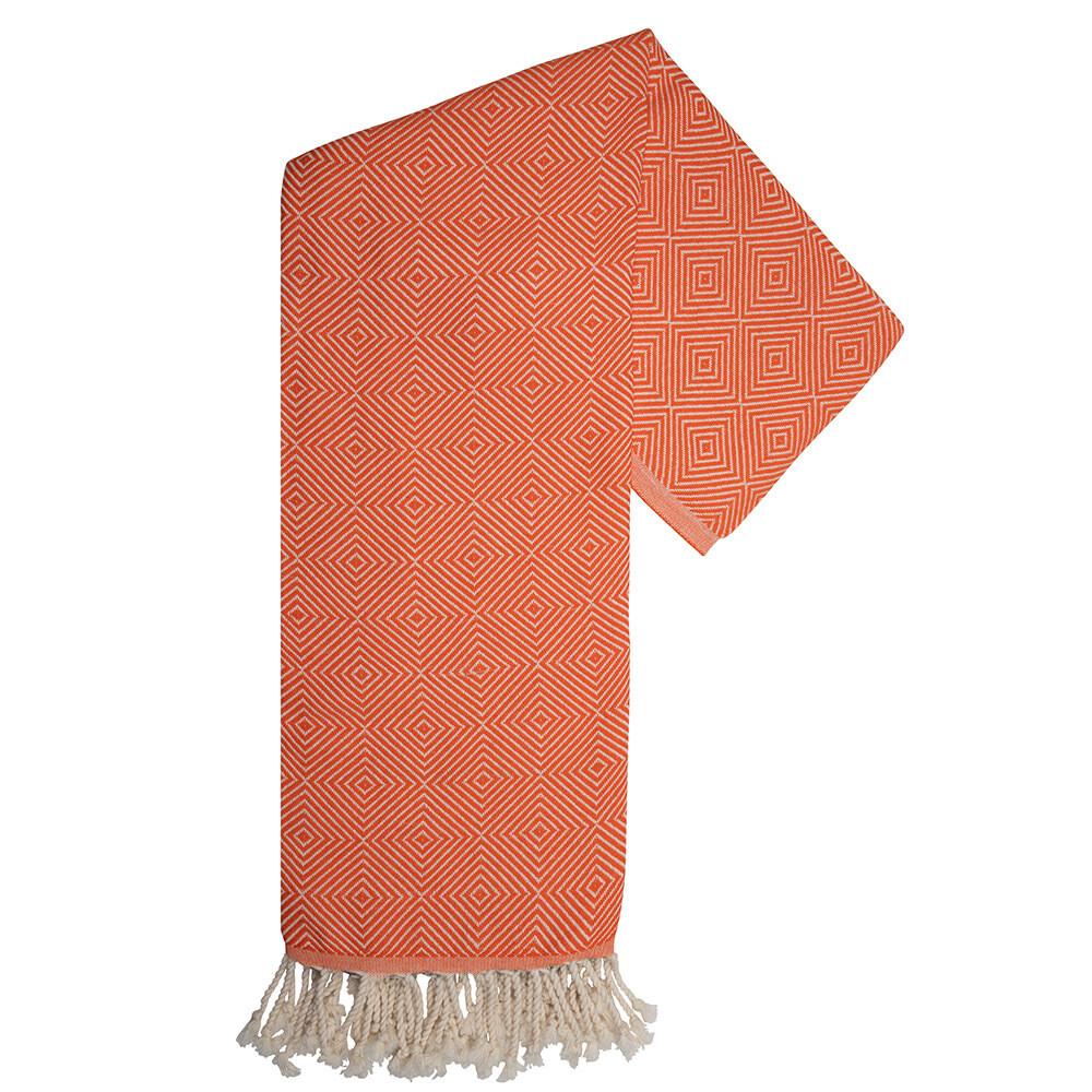 Hamam-Handtuch Harmony Orange