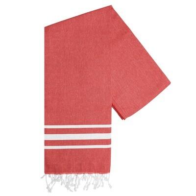 Hamam-Handtuch Vibe Rot