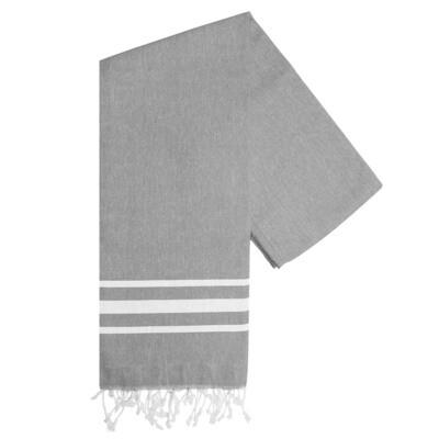 Hamam-Handtuch Vibe Grau
