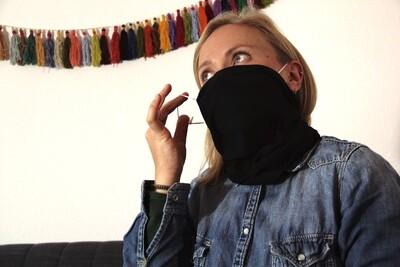 Schal-Maske