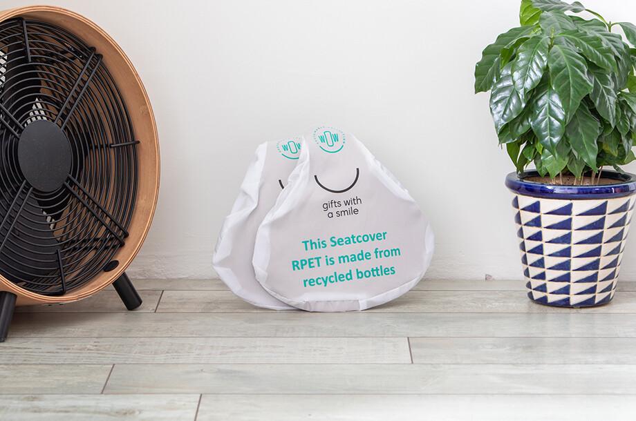 Sattelschutz aus recycelten PET-Flaschen