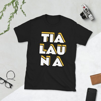 TIALAUNA Yellow Shadow Short-Sleeve Unisex T-Shirt