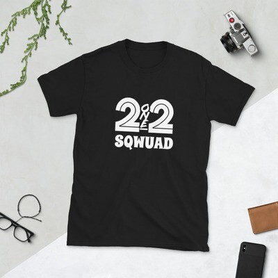 212 Sqwuad Short-Sleeve Unisex Fan T-Shirt (With Custom Name On Back)