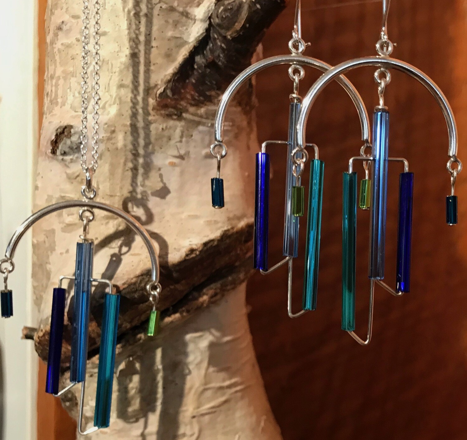 Now $10 Off   Chandelier Earrings and Necklaces - Silver