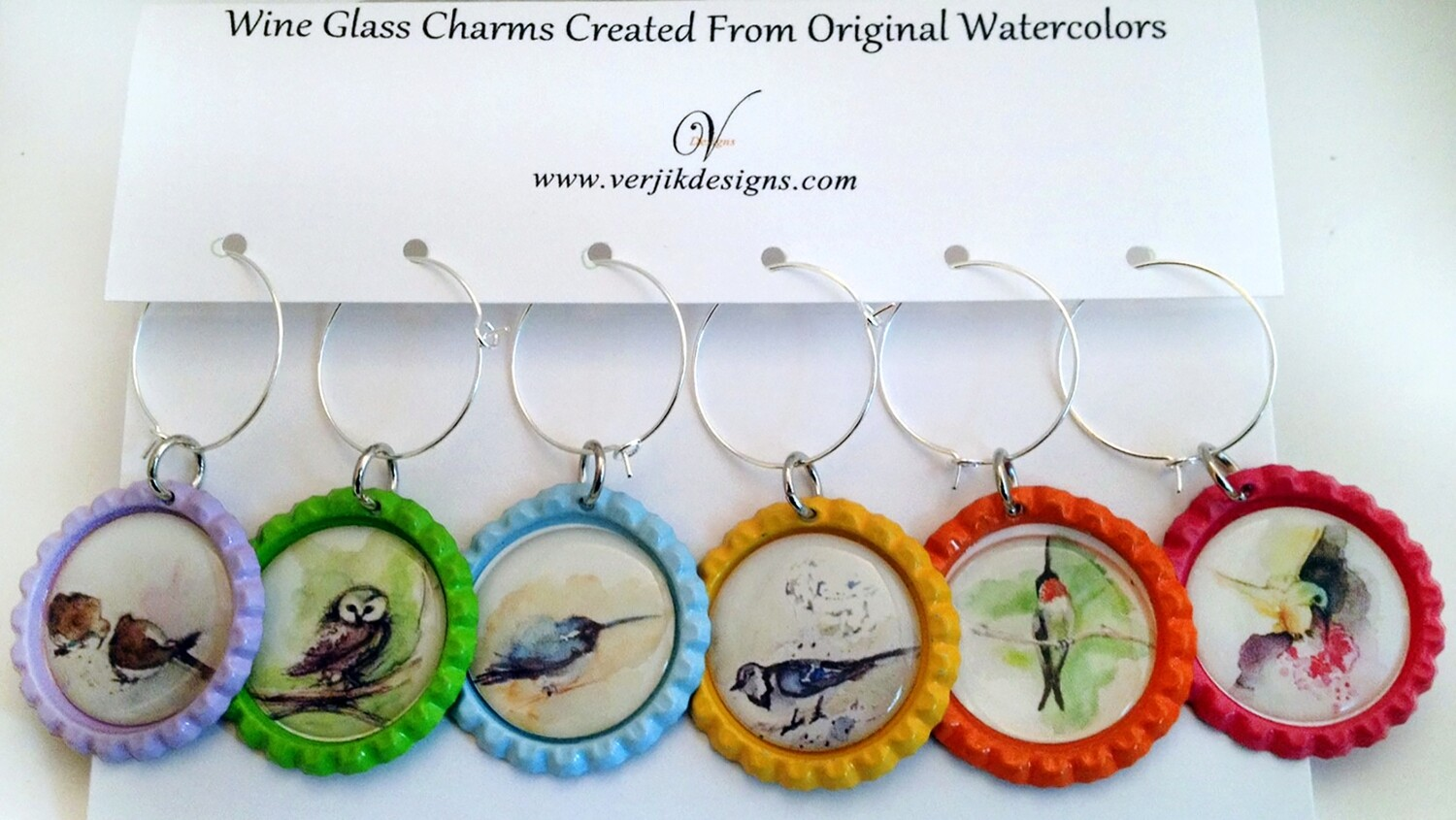 Wine Charms - VDesigns