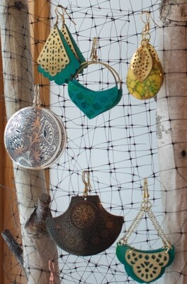 Handmade Earrings - India