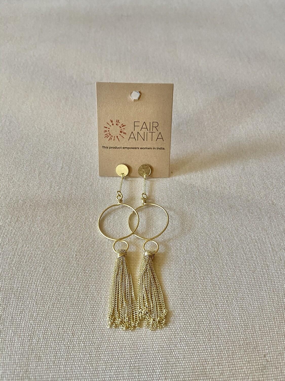 Elegant Tassel Earrings - India