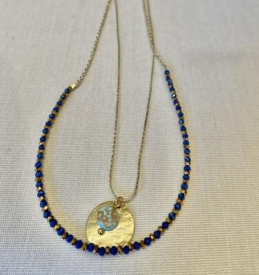 Layered Pendant Necklace - India