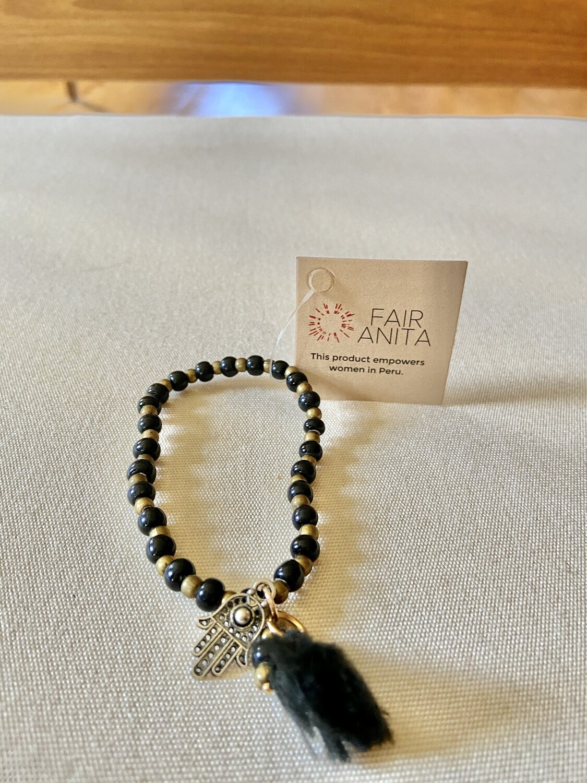 Ceramic Beaded Bracelet - Peru