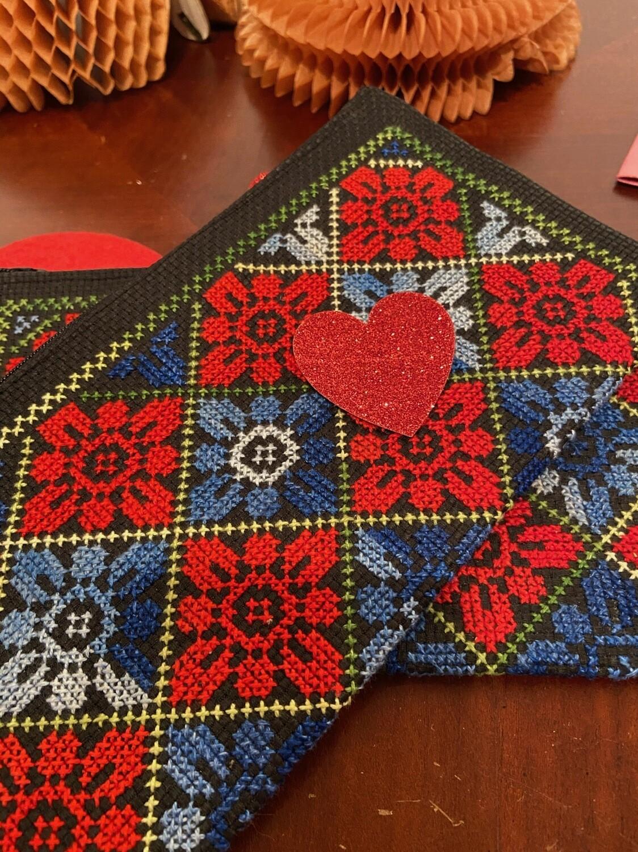 Desert Embroidery Bag