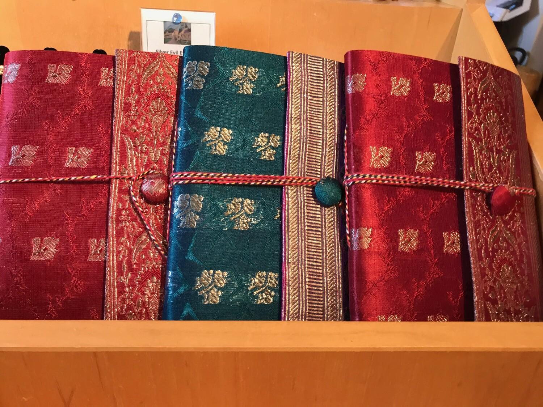 Upcycled Sari Journal