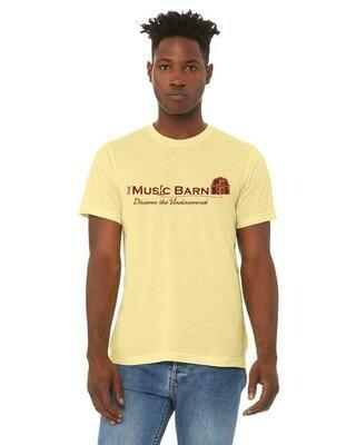 Music Barn Classic Tee - Yellow