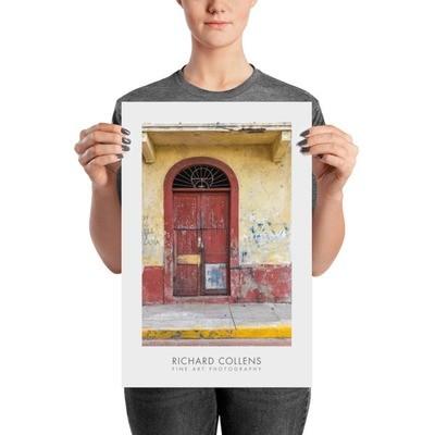 Puerta y Lana - Richard Collens Ad Poster
