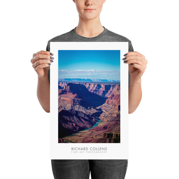 Colorado from South Rim - Richard Collens Ad Poster