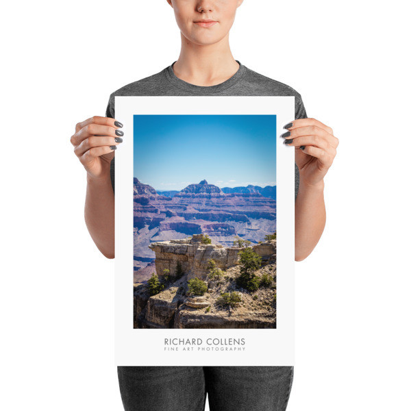 Serenity at South Rim - Richard Collens Ad Poster