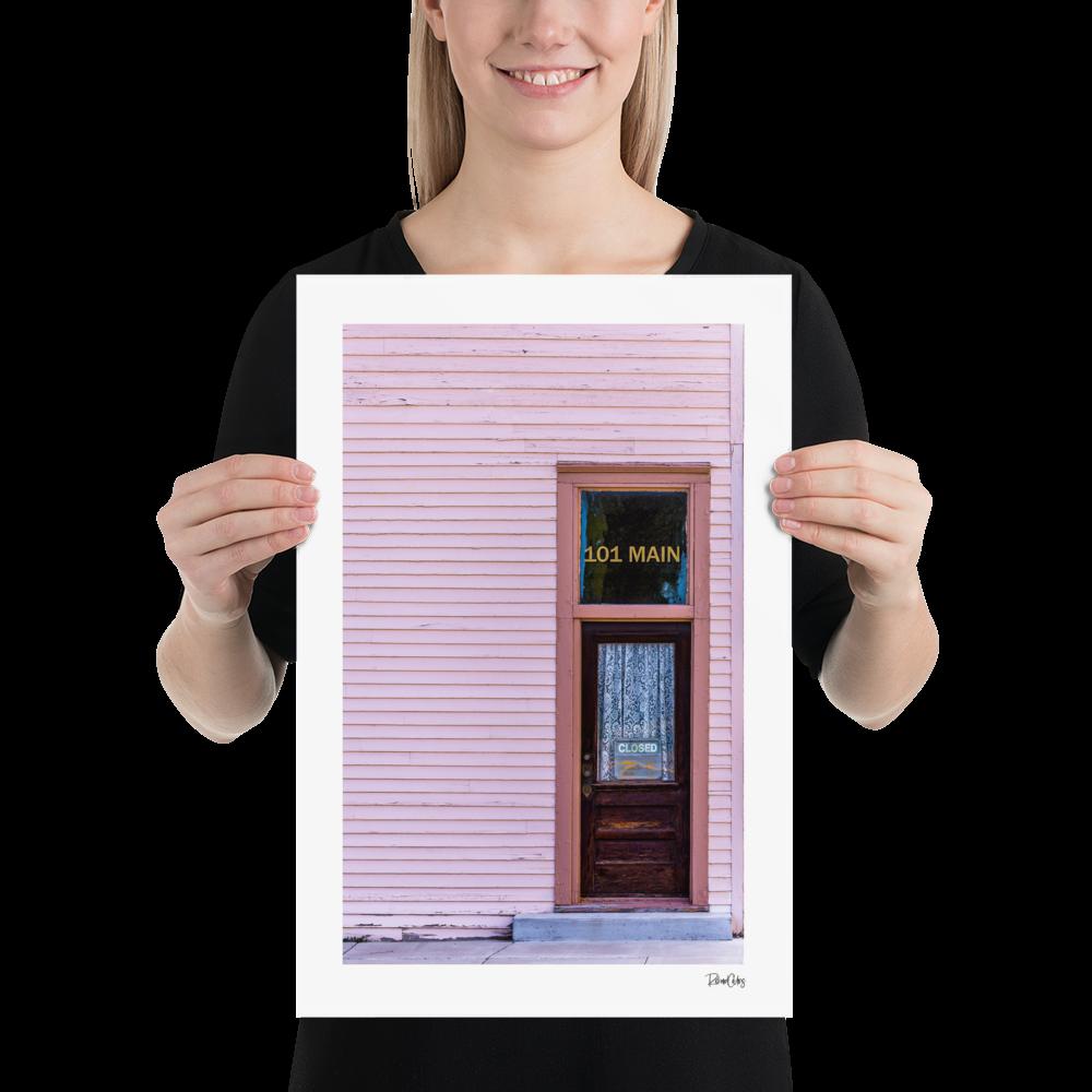 "Fine Art Print: ""Lavina Pink"""