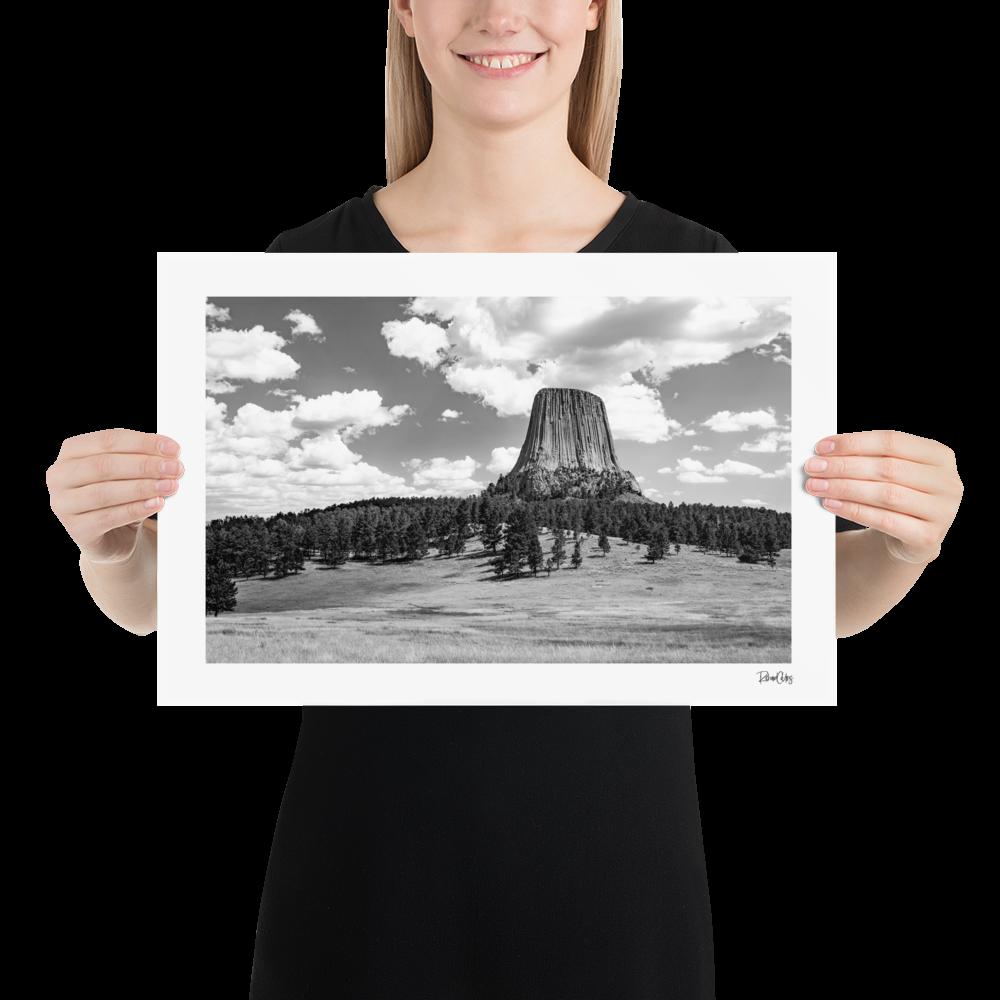 "Fine Art Print: ""Devil's Tower"""