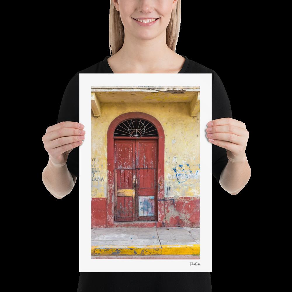 "Fine Art Print: ""Puerto y Lana"""