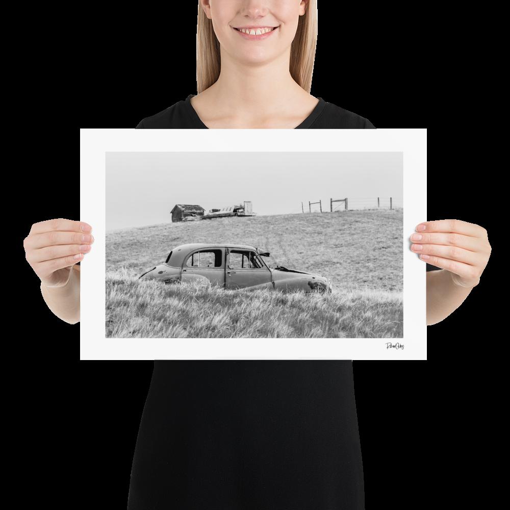 """Fine Art Print: """"Take the Low Road"""""""
