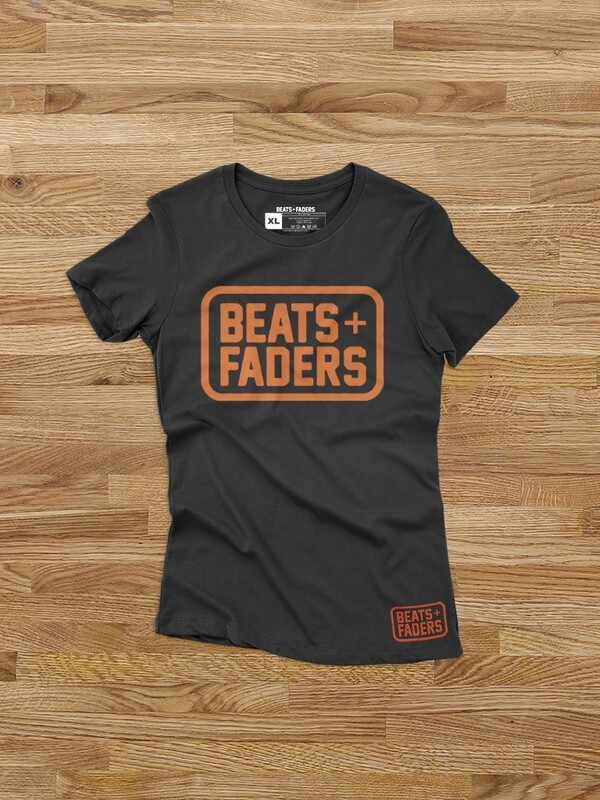 Beats + Faders™ Box Ladies' Classic Fit Short Sleeve Tee