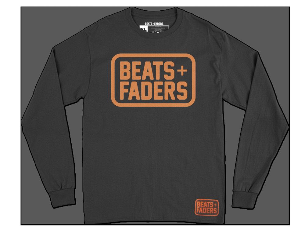 Beats + Faders™ Box Unisex Long Sleeve Tee
