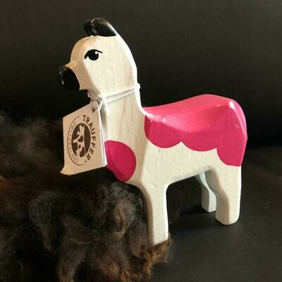 Alpaka TRAUFFER mittel pink