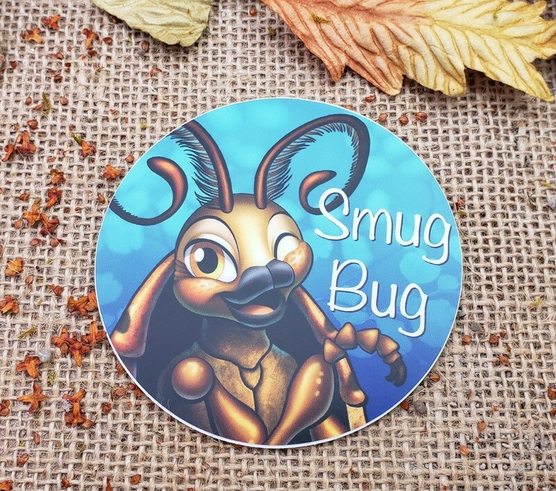 Smug Bug logo sticker