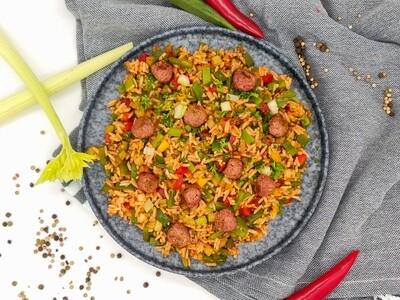 Cajun Reis | Vegan