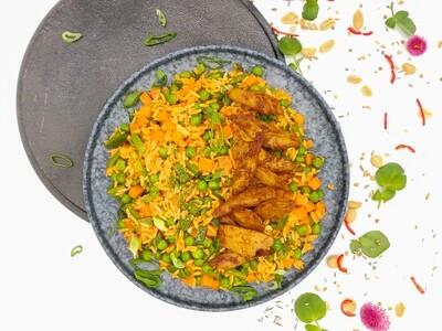 Satay Reis | Vegan