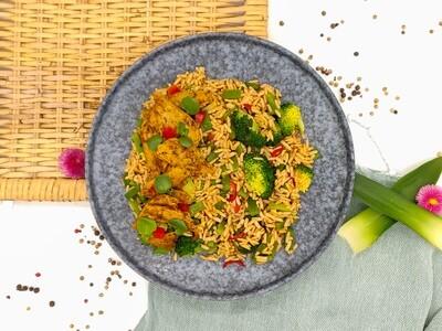 BBQ Reispfanne | Vegan