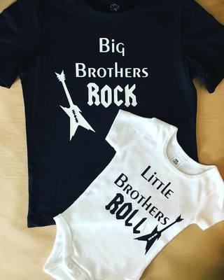 Big Brothers Rock Little Brothers Roll Set