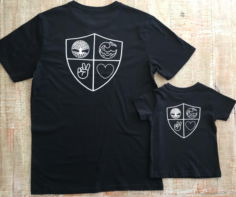 Matching Shield Set Black
