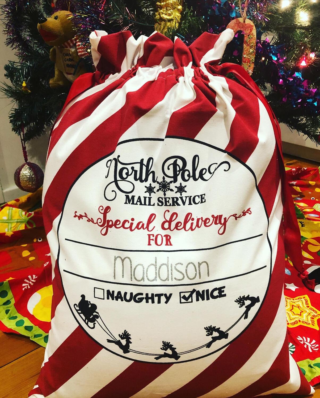 Custom Santa sack
