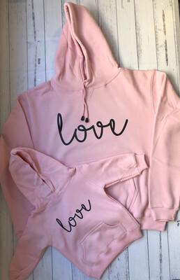 Matching love Hoodies