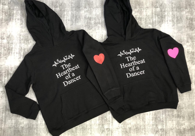 5 6 7 8 Dancer hoodie