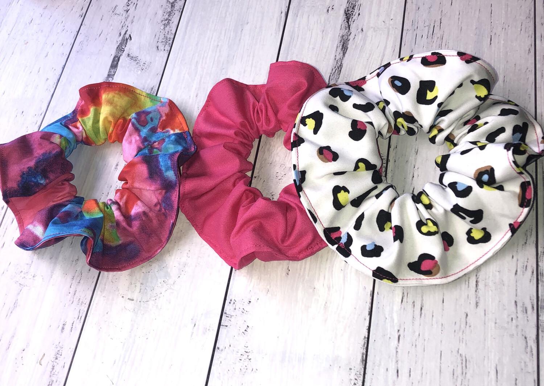 Pink Scrunchie bundle