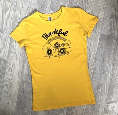 Thankful Tee Or Crop