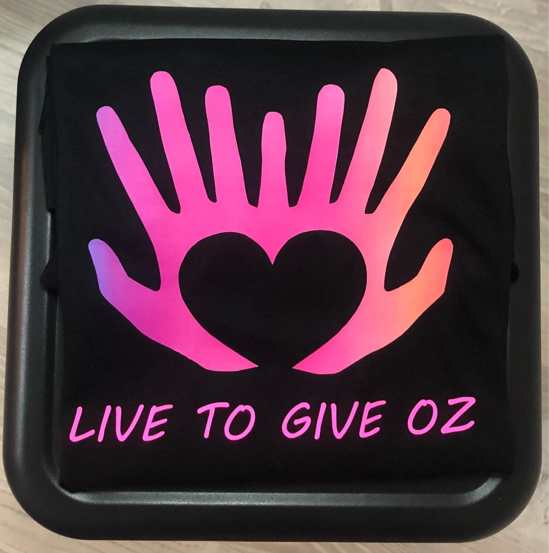 Live To Give Oz Shirt