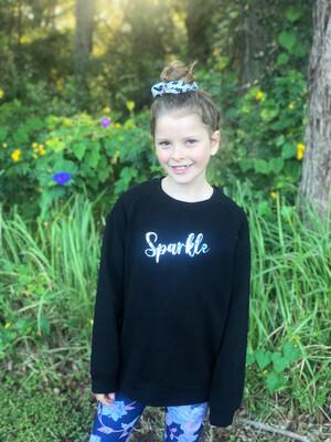 Sparkle -Sweater-hoodie-crop-tee