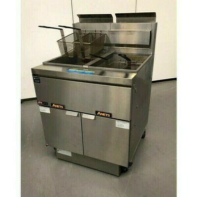 ANETS Secondhand Double Well Fryer