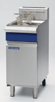 Blue Seal Evolution Series - 400mm Single Pan Gas Fryer