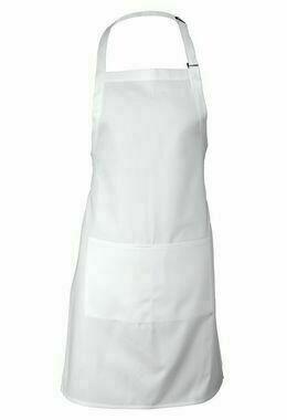 Chefworks White Bib Apron
