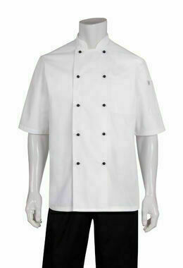 Chefworks Macquarie White Basic Chef Jacket