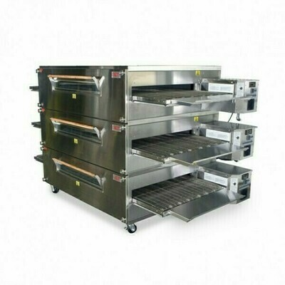 XLT Triple Stack Electric Conveyor Oven - 2440-3E