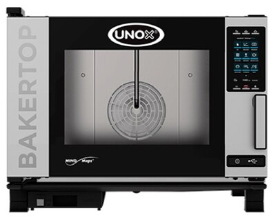 Unox BakerTop MIND.Maps PLUS 4 Tray Electric Combi Oven