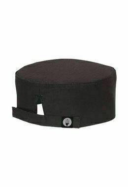Chefworks Cool Vent Black Chef Beanie