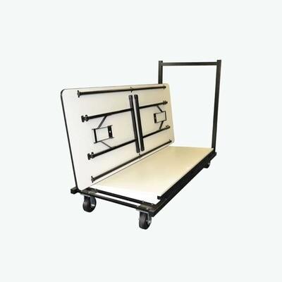 Premium Rectangle Trestle Table Trolley