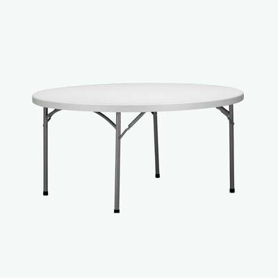 Duratable Trestle Table - Round