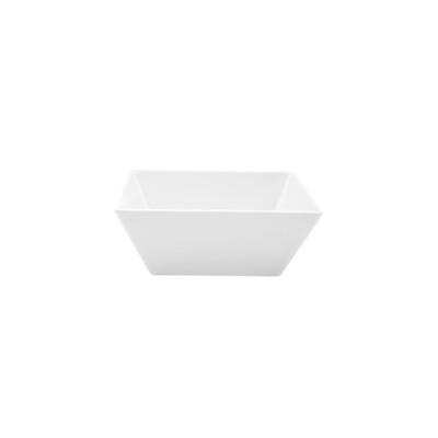 Square Melamine Bowl White Only